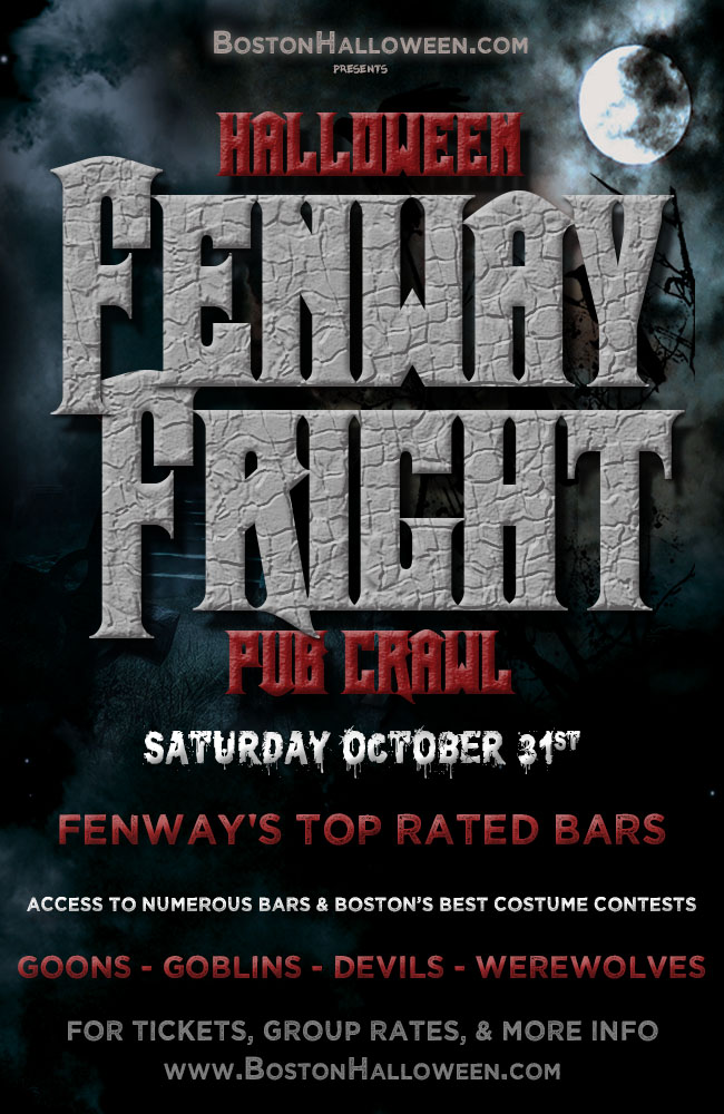 Fenway Fright Night Halloween Pub Crawl