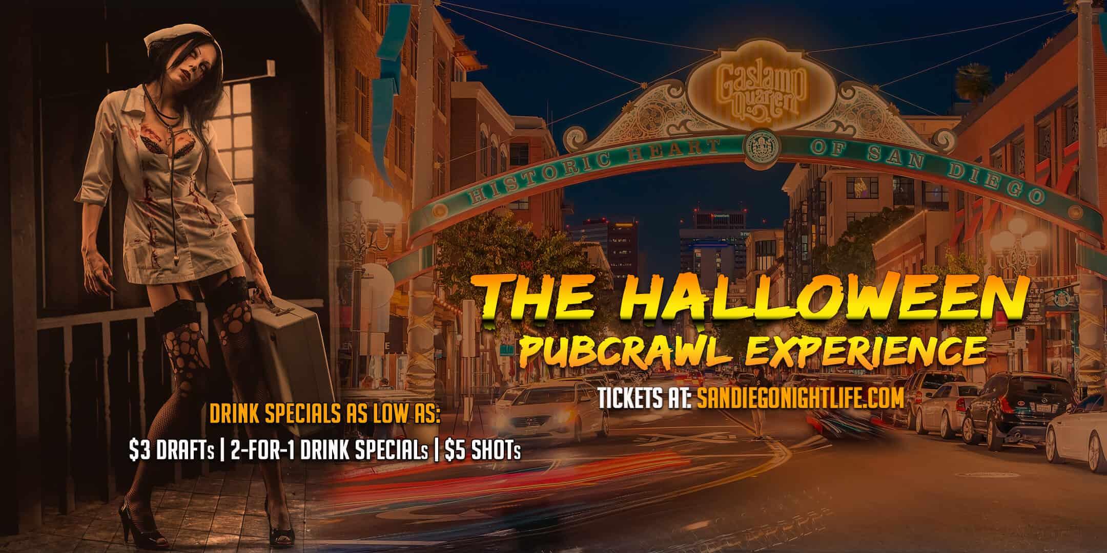 OCT 30 :: San Diego Halloween Pub Crawl
