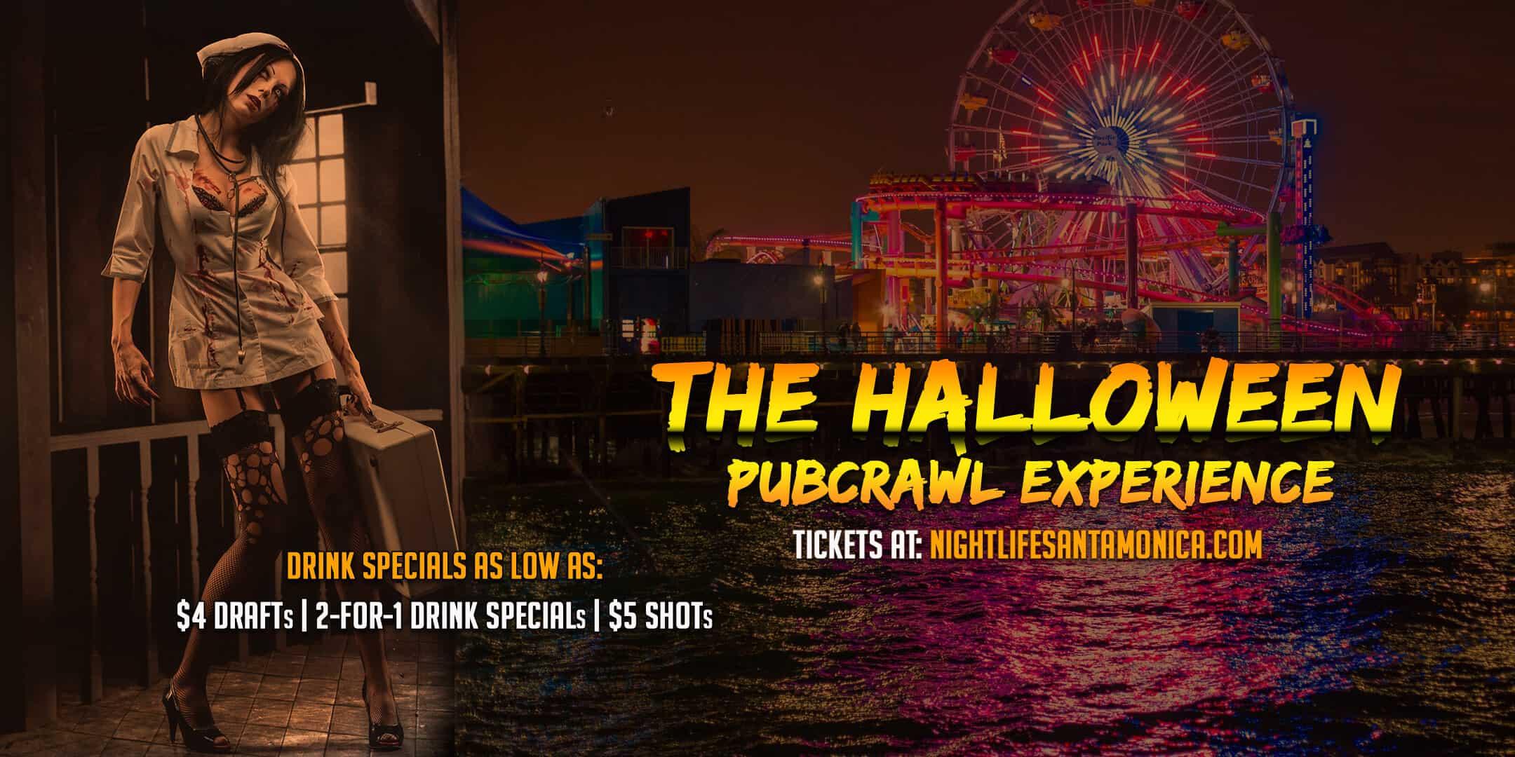 OCT 30 :: Santa Monica Halloween Pub Crawl