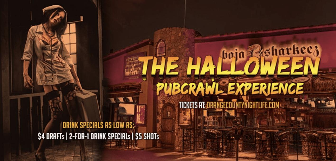 October 30th :: Newport Beach Halloween Pub Crawl