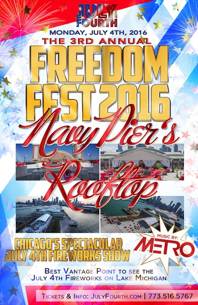 The 3rd Annual Freedom Fest Chicago