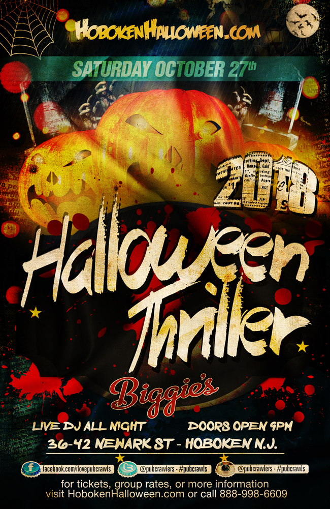 Halloween Thriller at Biggies Hoboken
