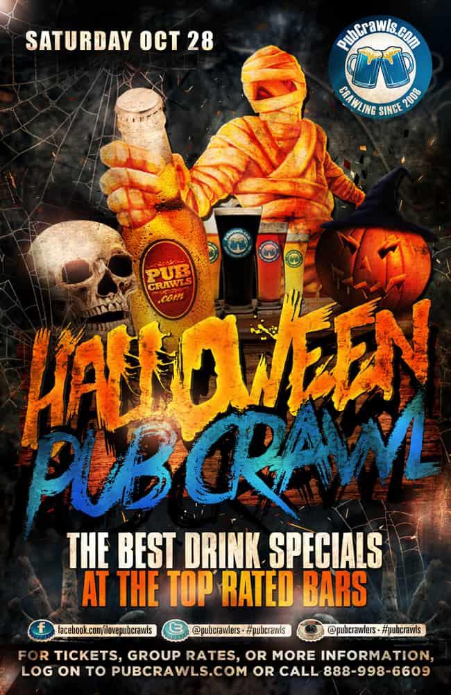 Washington D.C. Halloween Pub Crawls