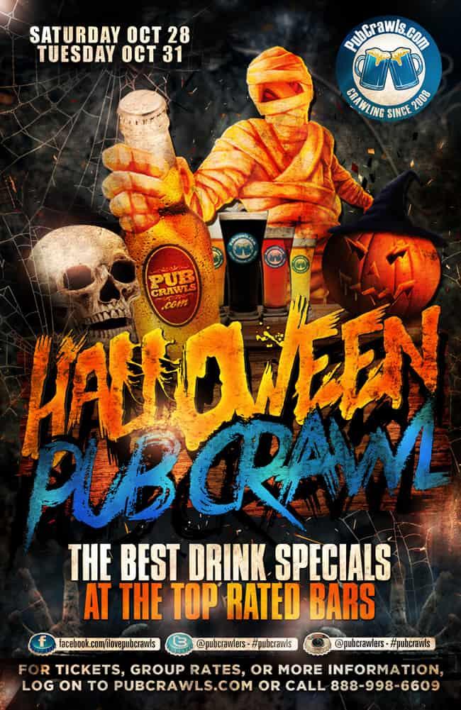 Official Halloween Pub Crawl Houston