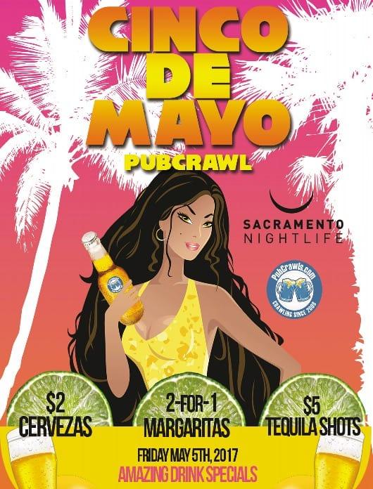 Sacramento Cinco De Mayo PubCrawl
