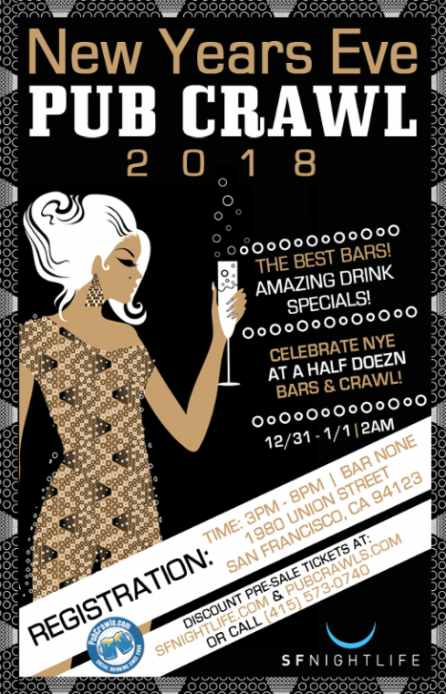 New Year's Eve Pub Crawl Events