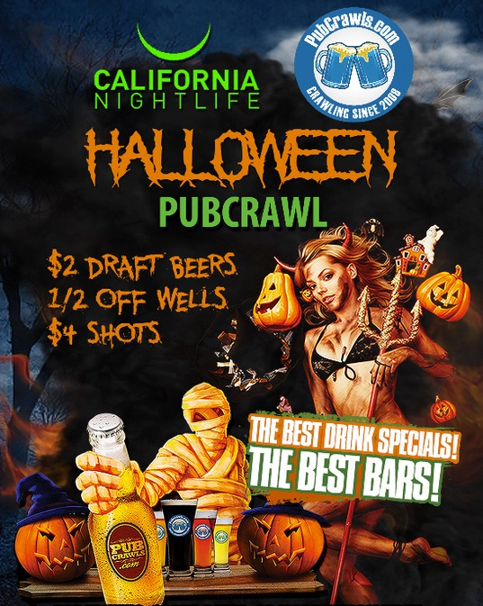 OCT 31 :: Hollywood Official Halloween Pub Crawl