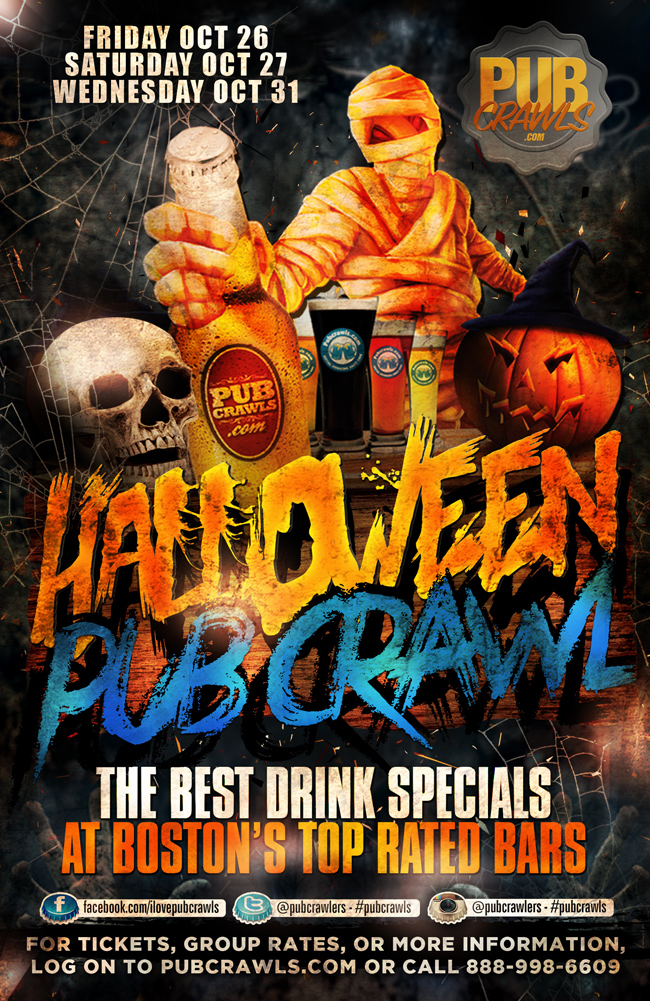 Official Halloween Pub Crawl Boston (Faneuil Hall)