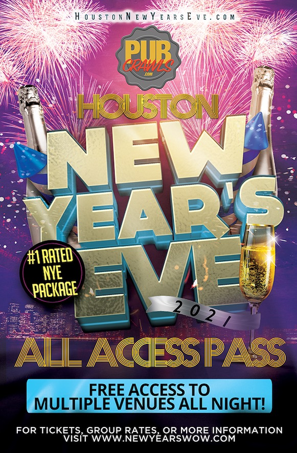 New Year's Eve All Access Pass Houston