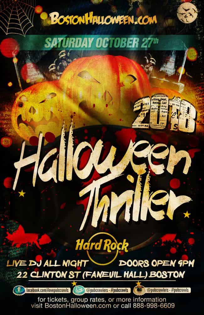 Hard Rock Halloween Thriller