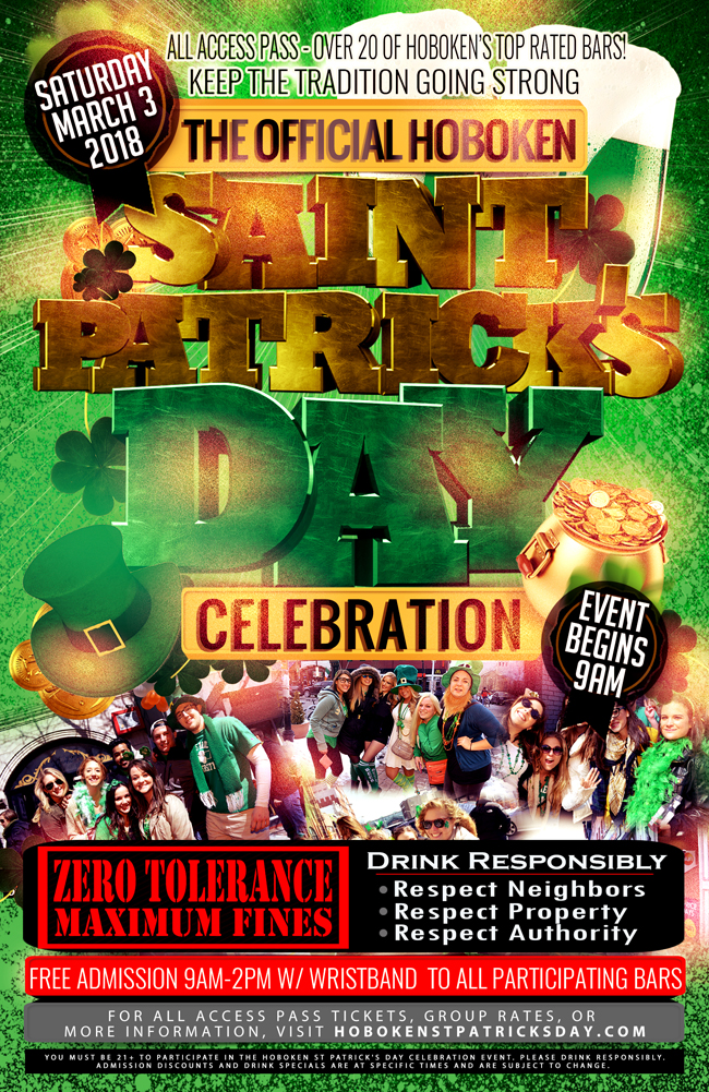 Official Hoboken LepreCon St Paddy's Celebration