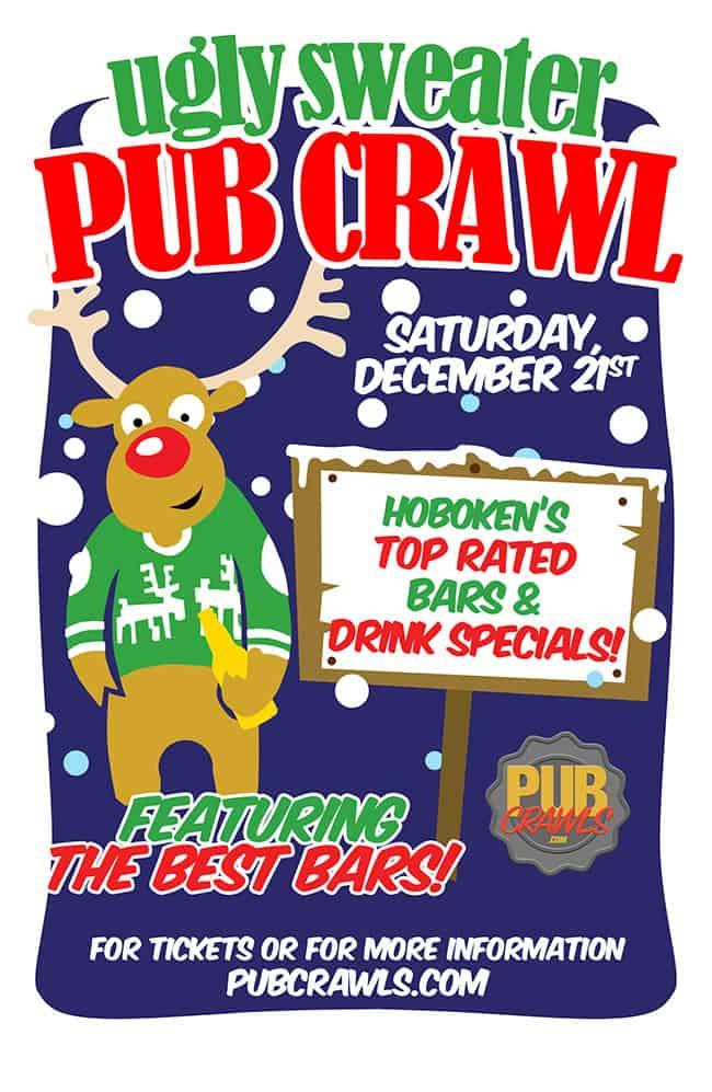Hoboken Ugly Sweater Pub Crawls