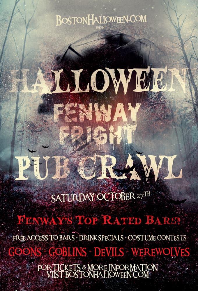 Fenway's Fright Night Halloween Pub Crawl
