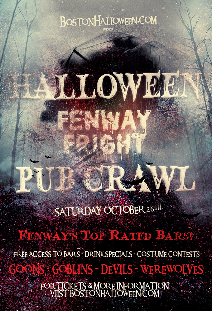 Fenway's Fright Night Halloween Pub Crawl