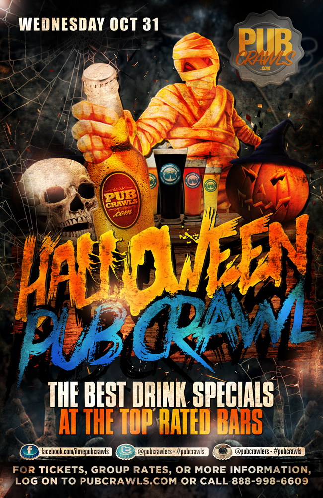 Arlington Halloween Pub Crawls