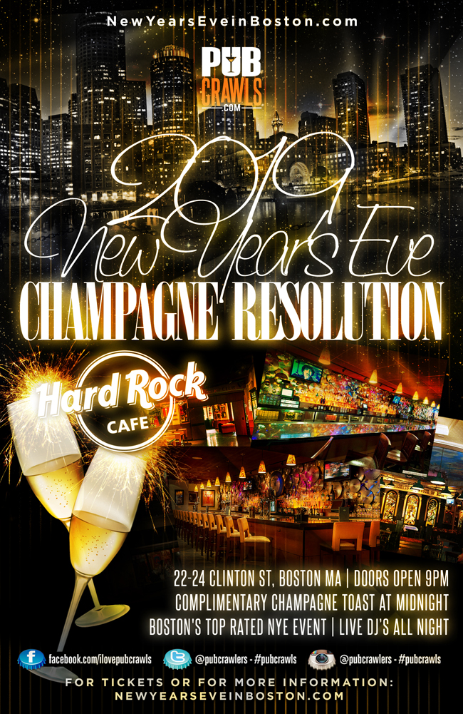 "3rd Annual Hard Rock ""Champagne Resolution"" NYE"
