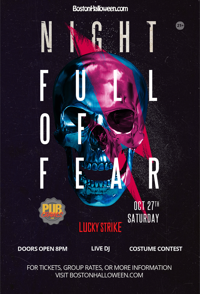 "Lucky Strike ""Night Full of Fear"" Halloween 2018"