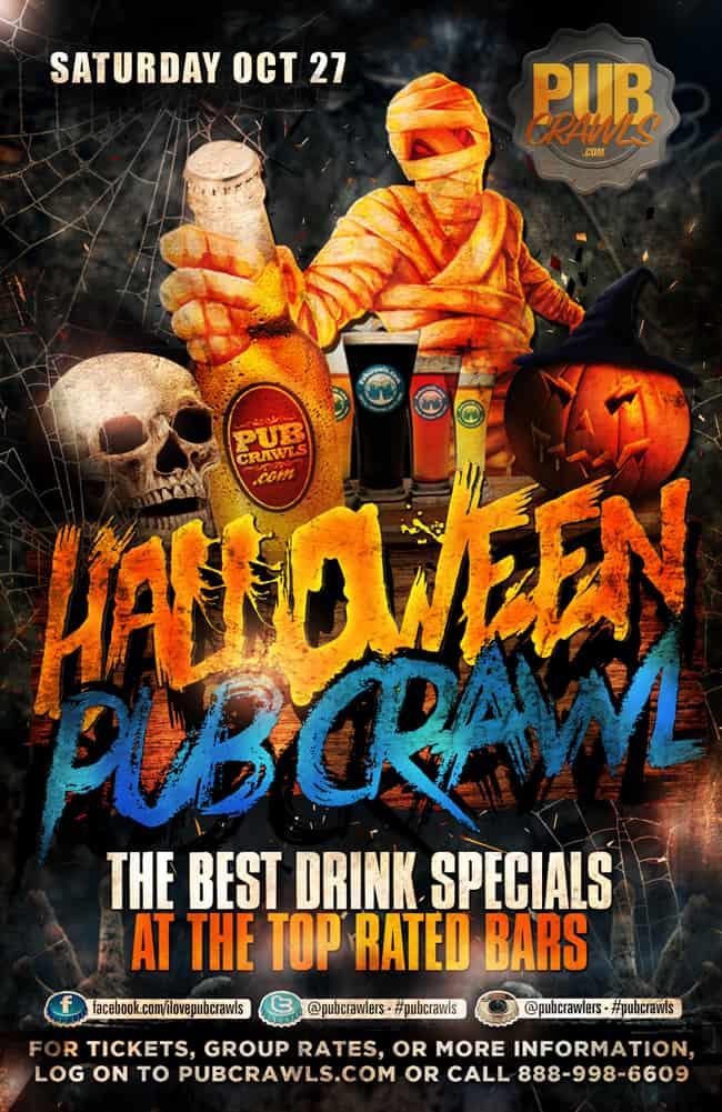 Nyack Halloween Pub Crawls
