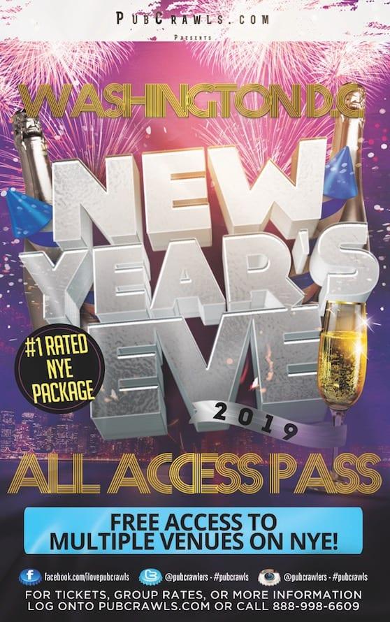 New Year's Eve All Access Pass Washington D.C.
