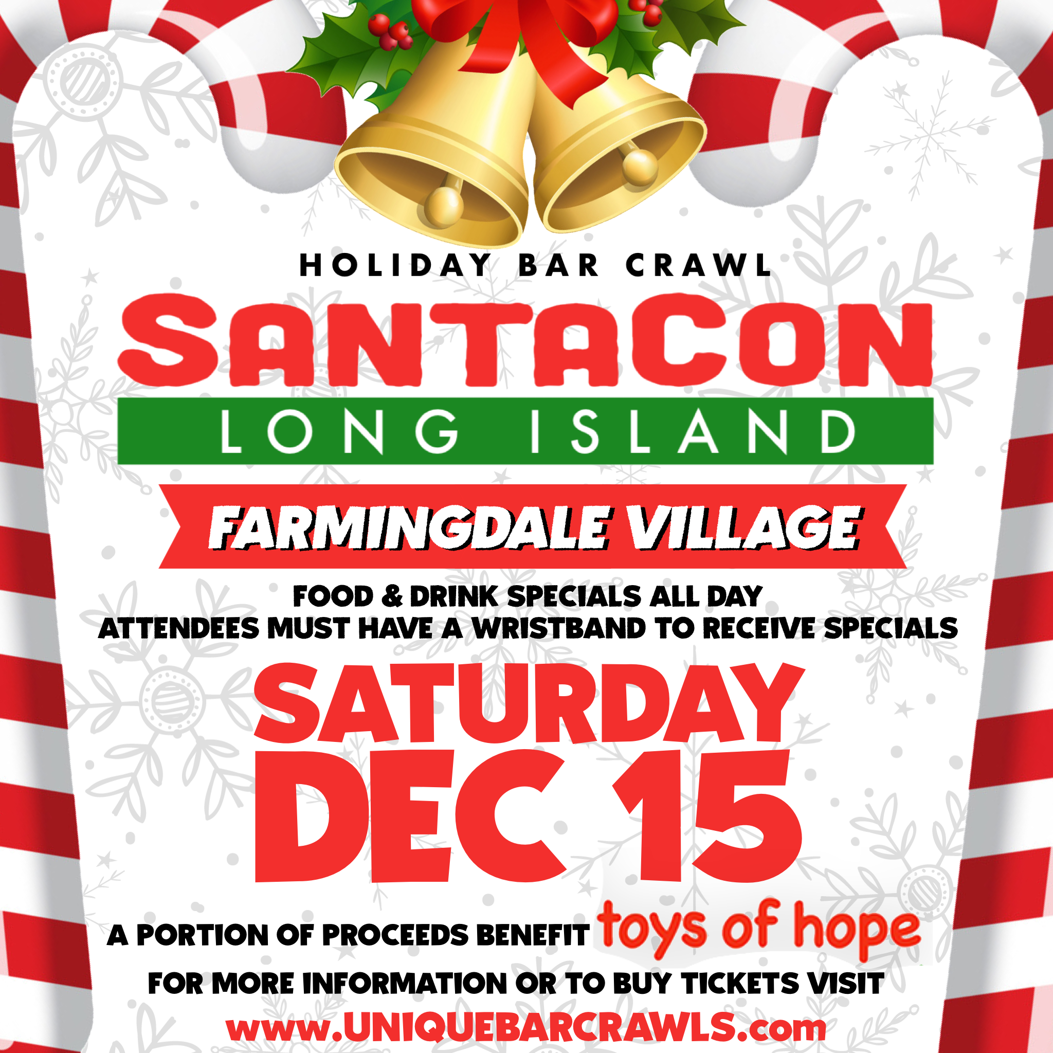 Official Farmingdale SantaCon Crawl 2018