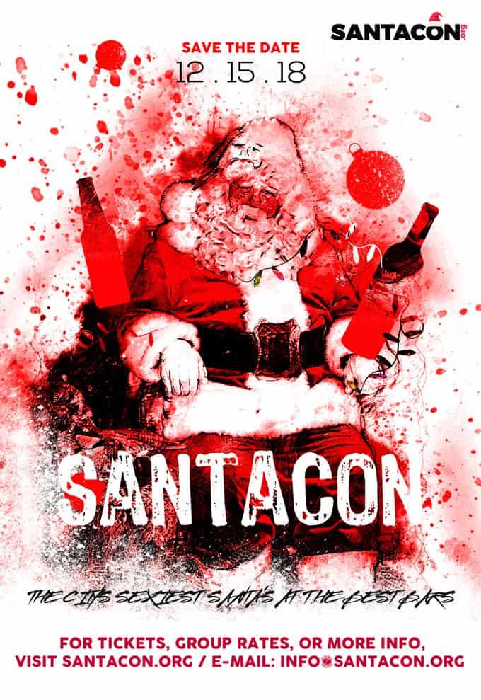 New Haven SantaCon Crawl 2018