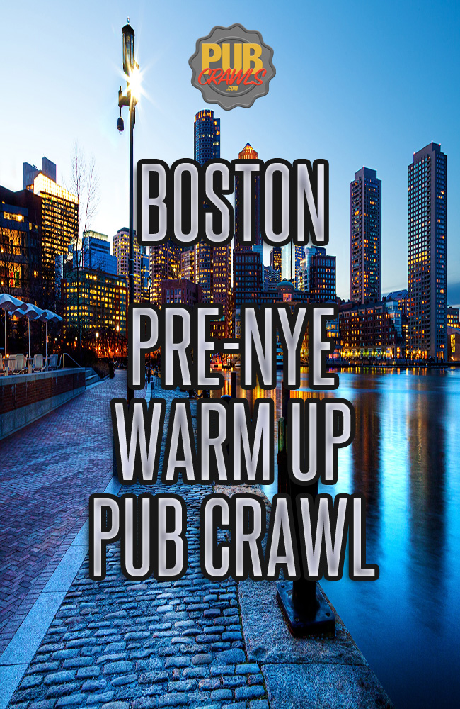 Boston's Pre New Year's Eve Crawl 2019 Warm Up