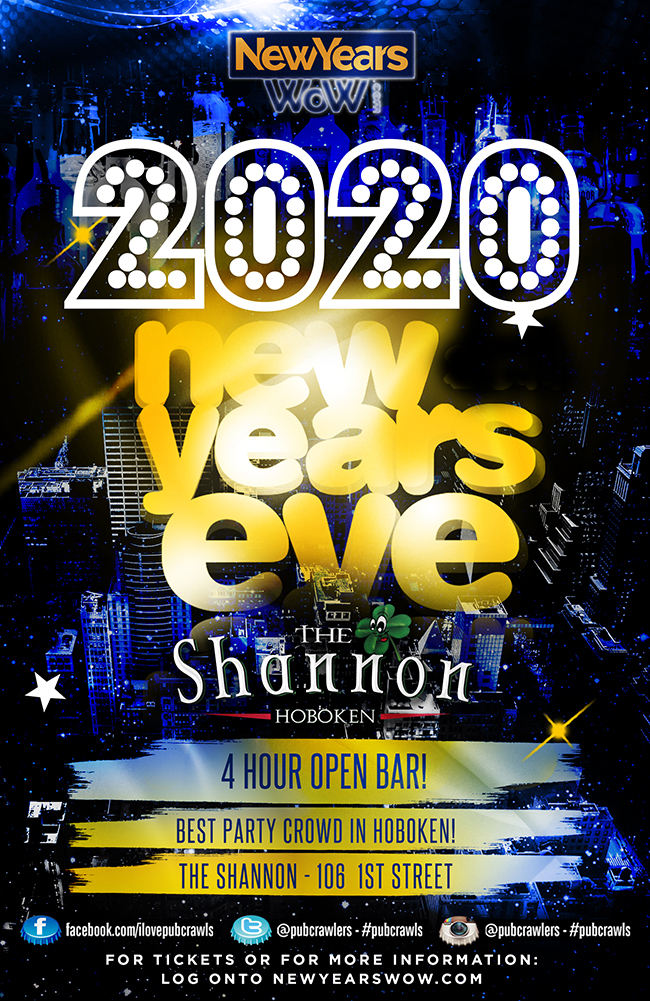 The Shannon Hoboken NYE 2020