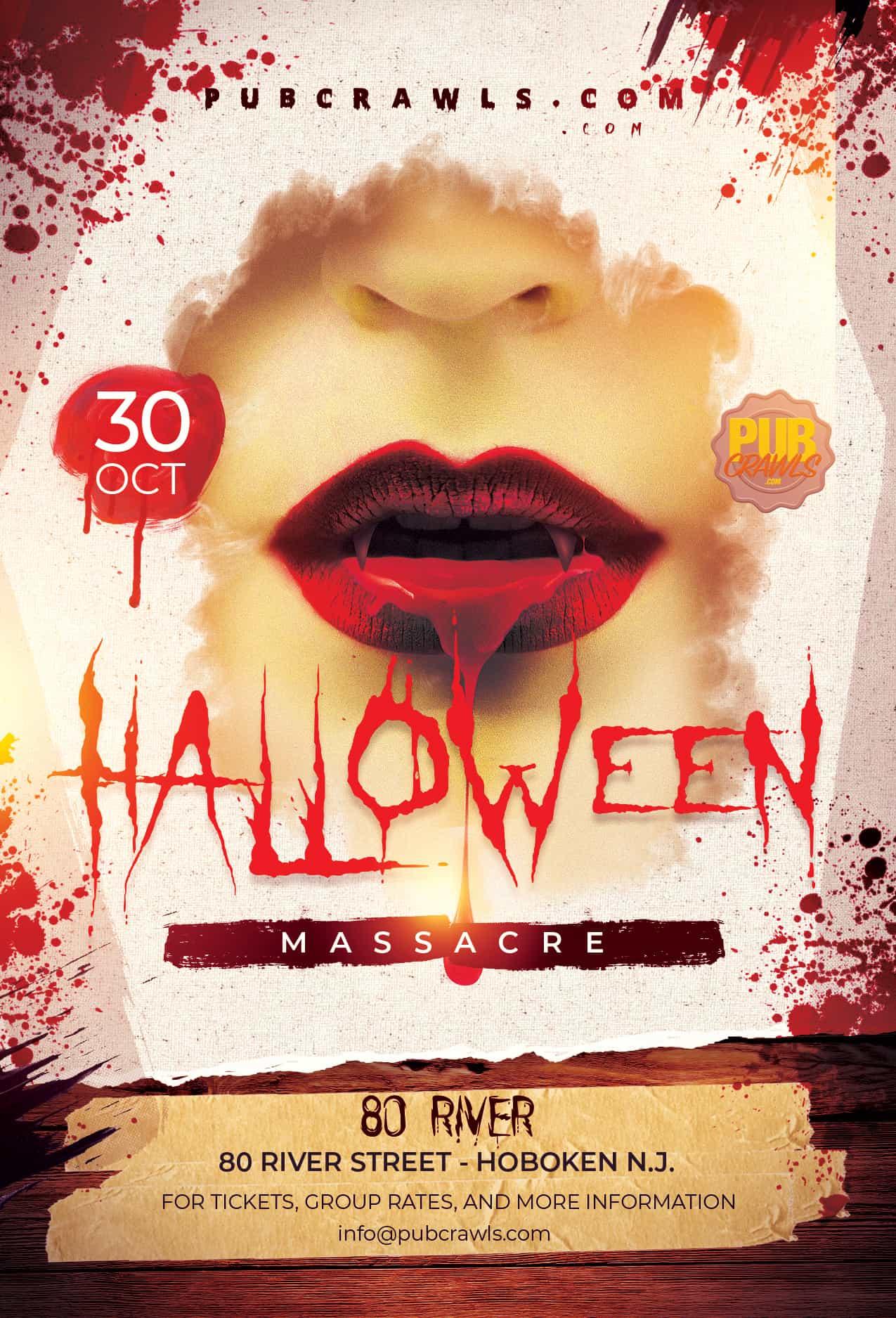 80 River Hoboken Halloween Massacre