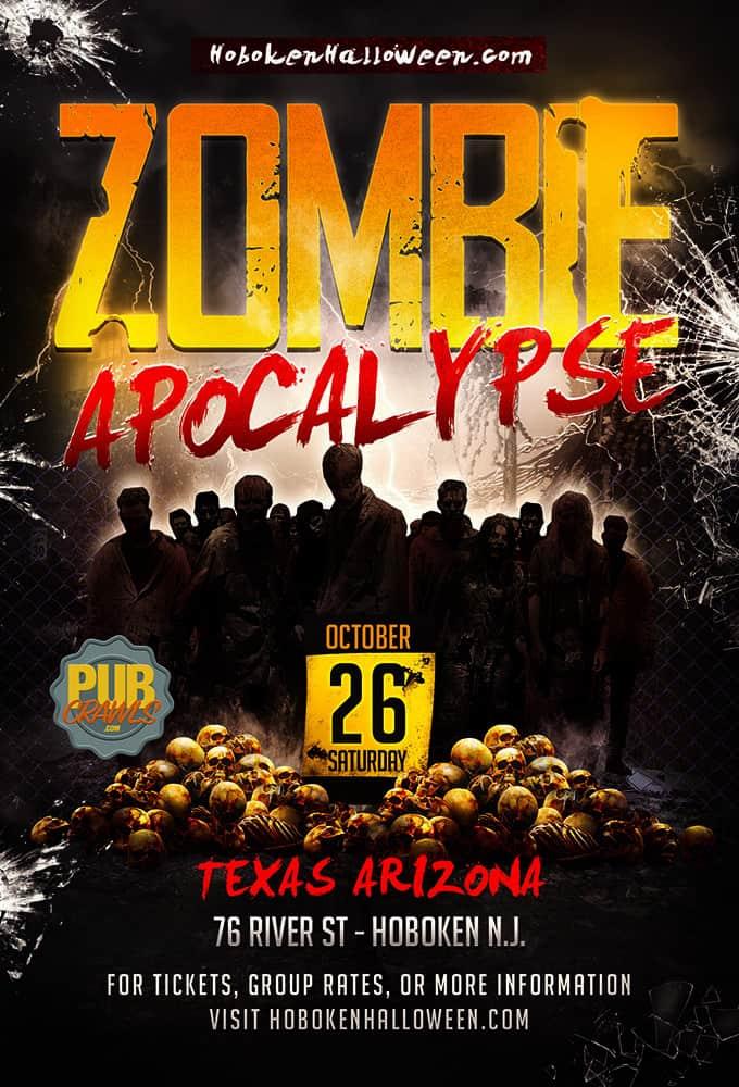 """Texas Arizona """"Zombie Apocalypse"""" Hoboken Halloween"""