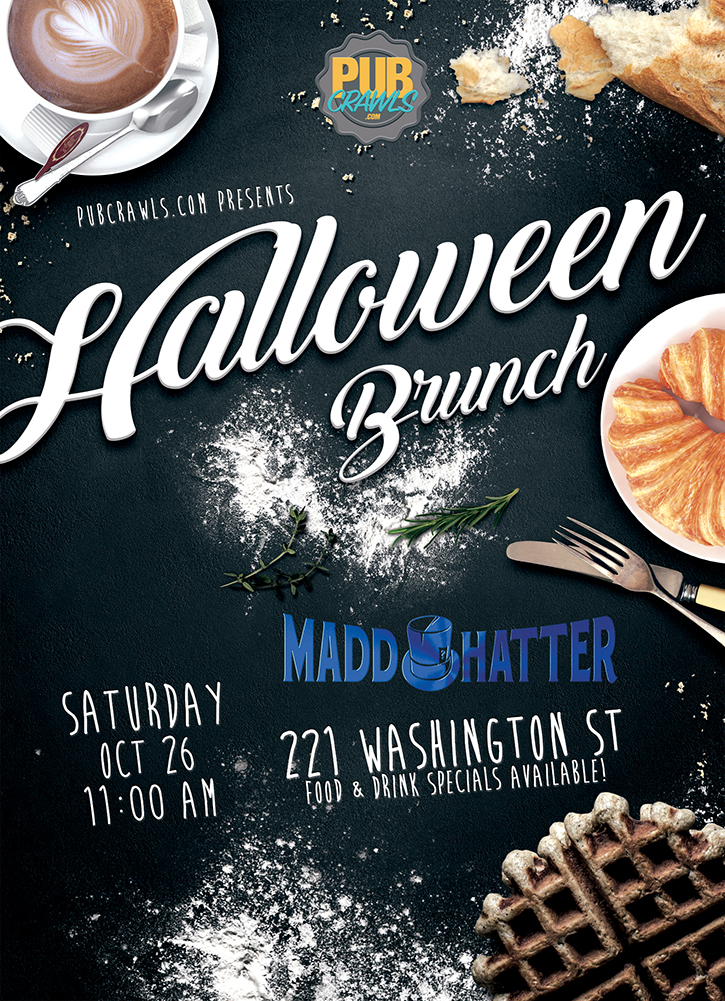 HalloWeekend Brunch at Madd Hatter Hoboken