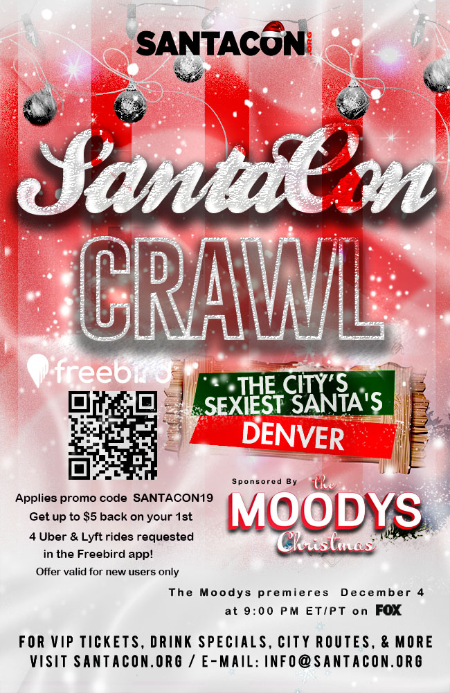 Denver SantaCon Crawl 2019
