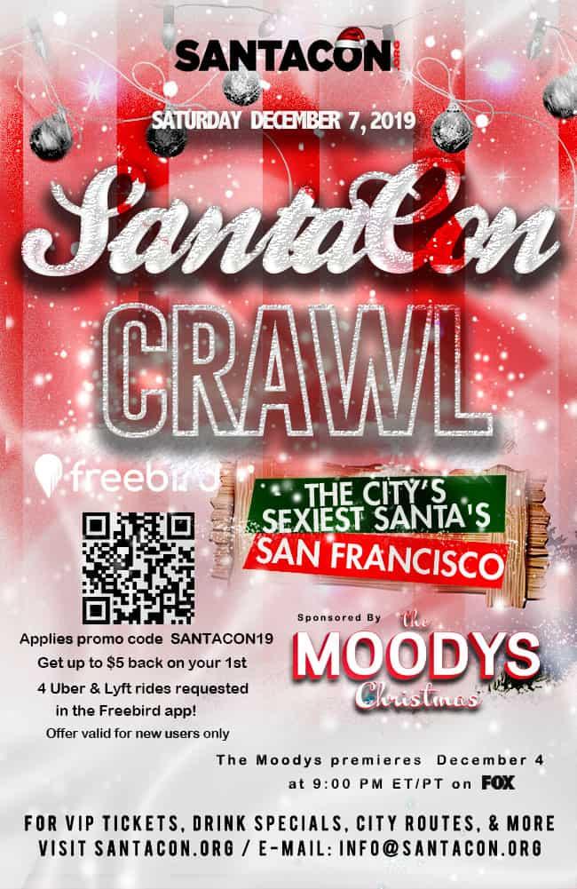 San Francisco SantaCon Crawl 2019