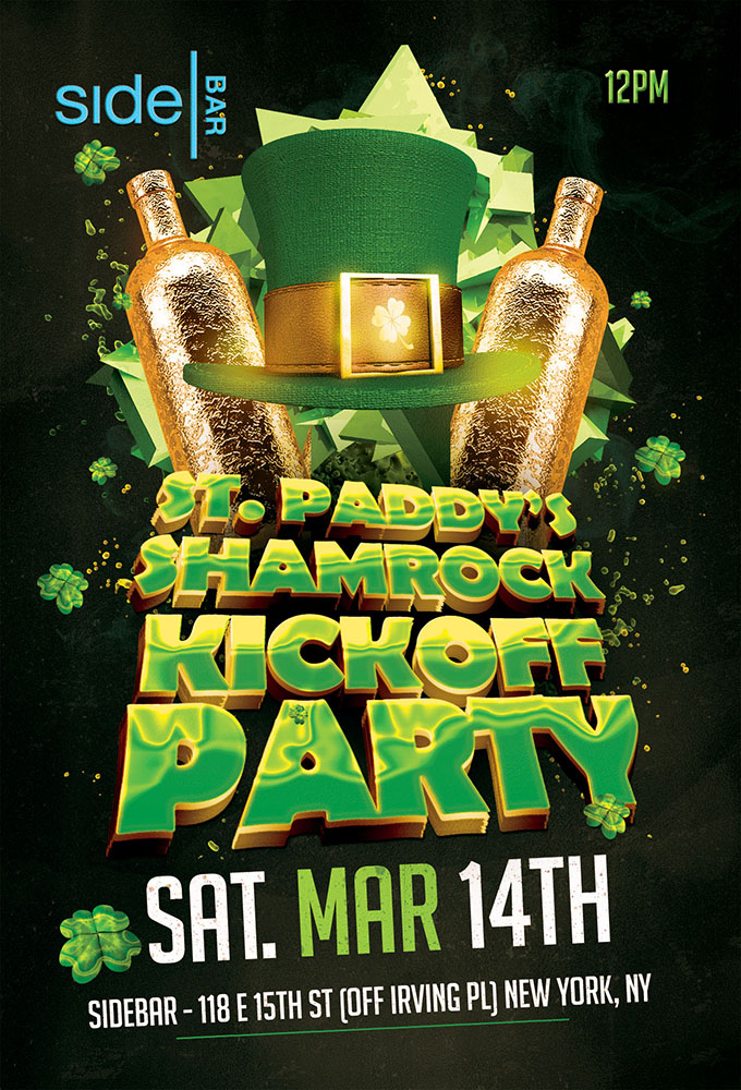 SideBAR Shamrock Kickoff Party