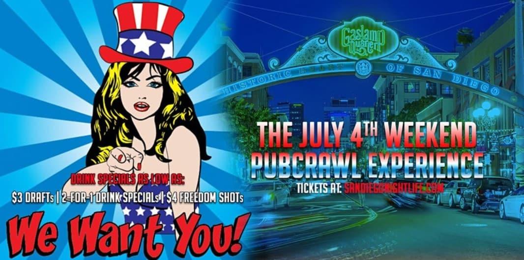 San Diego - 4th of July PubCrawl