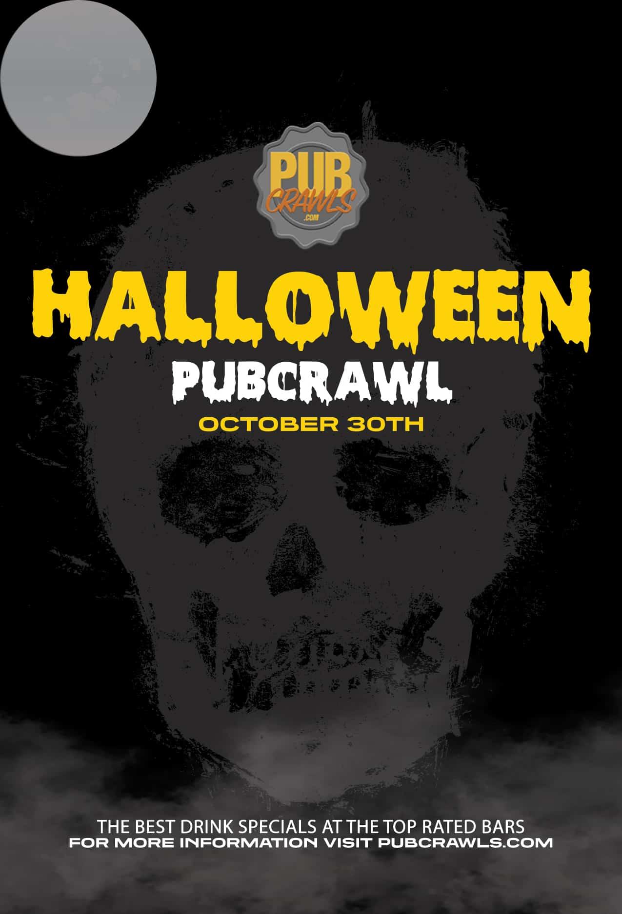 Houston Halloween Fright Night Pub Crawl