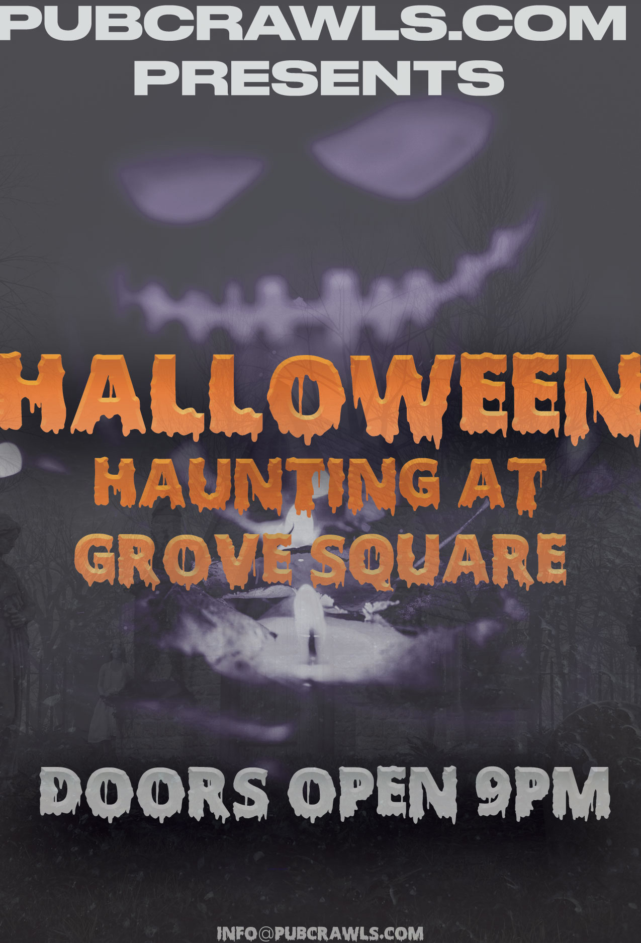 Halloween Haunting At Grove Square
